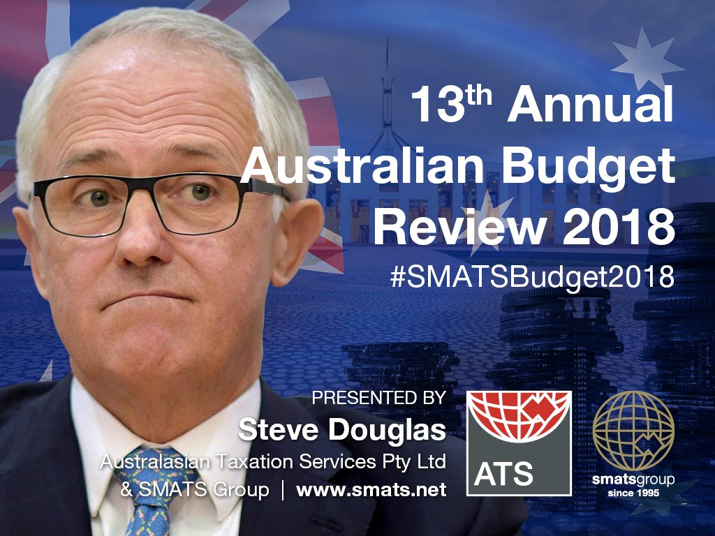 13th Annual Australian Budget Review 2018