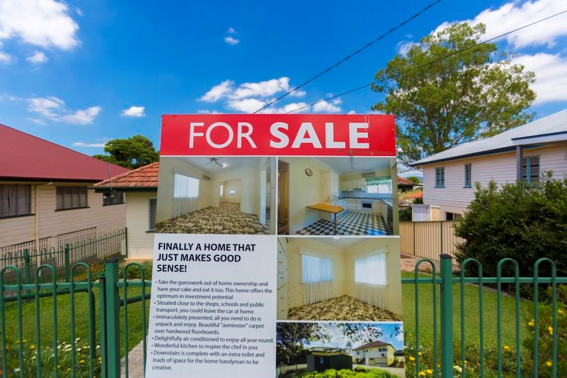 Property prices falls tempting RBA rate cut
